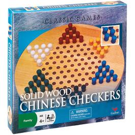 Wooden Chinese Checkers Family Board Game thumb