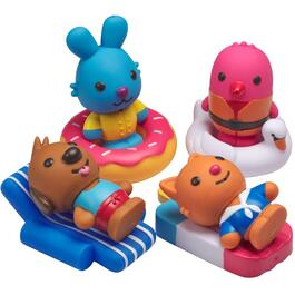 8 Piece Sago Mini Squirter Bath Toy Playset thumb