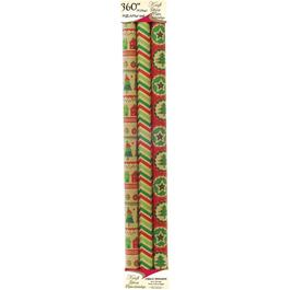 "3 Pack 30"" x 120"" Kraft Gift Wrap Rolls, Assorted Designs thumb"