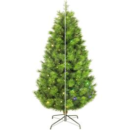 6.5' 250 Colour Changing LED Scotch Pine Christmas Tree thumb