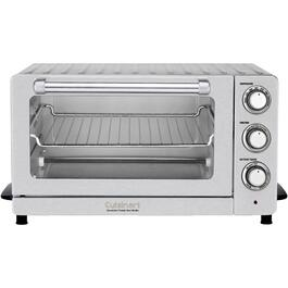 1800 Watt 6 Slice 0.6 Cu Ft Stainless Steel Convection Toaster Oven thumb