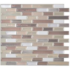 "6 Pack 10.25"" x 9.125 "" Muretto Durango Peel and Stick Tiles thumb"