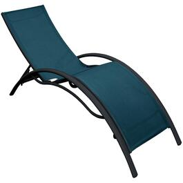 Ocean Blue Bryant Contoured Sling Chaise Lounge thumb
