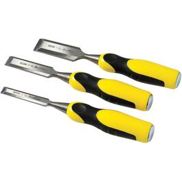 3 Piece Beveled Edge Wood Chisel Set thumb