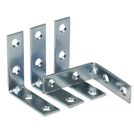 "4 Pack 2"" Zinc Corner Braces thumb"