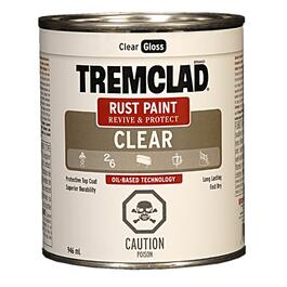 946mL Clear Gloss Alkyd Rust Paint thumb