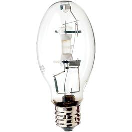 175W ED28 Mogul Base High Intensity Discharge Mercury Vapour Clear Light Bulb thumb