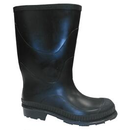 Men's Size 10 Black Economical Moulded Rubber Boots thumb