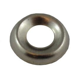 #6 Nickel-Plated Steel Finish Washer thumb
