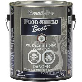 3.40L Solid Clear Base Deck and Siding Alkyd Oil Stain thumb
