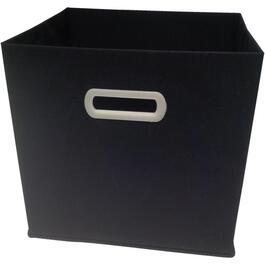 Black Fabric Non-Woven Storage Drawer thumb