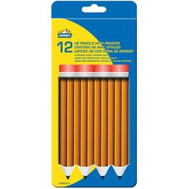 12 Pack HB Lead Pencils thumb