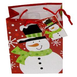 "4-1/2"" x 5-1/2"" Paper Christmas Gift Bag, Assorted Styles thumb"