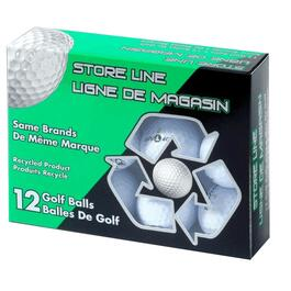 12 Pack Mixed Reused Golf Balls thumb