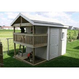12' x 8' Storage Shed Playhouse Package, with D5 Siding thumb