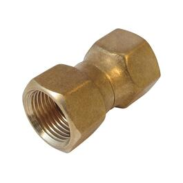 "1/2"" Brass Swivel Nut Connector thumb"