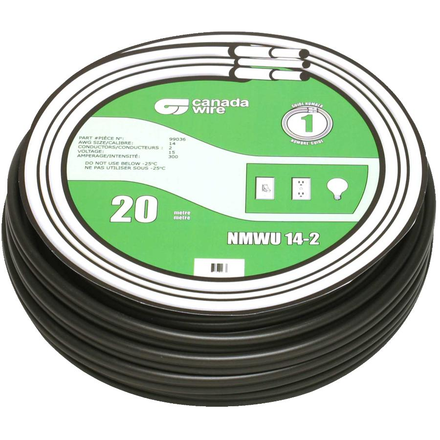 Canada Wire 30m 14 2 Nmwu Solid Copper Home Hardware Wiring A Basement 20m