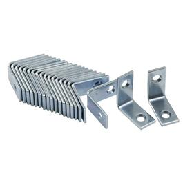 "20 Pack 1"" Zinc Corner Braces thumb"