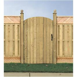 5' Pressure Treated Hyland Privacy Gate Fence Package thumb