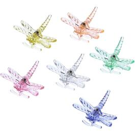 6 Pack Dragonfly Plant Clips thumb