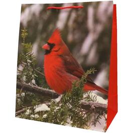 "19"" x 16"" Cardinal Christmas Gift Bag, Assorted Designs thumb"