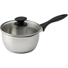 2 Quart Stainless Steel Saucepan, with Cover thumb