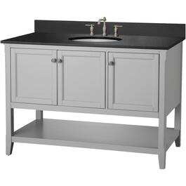 "48"" x 21.5"" 3 Door Grey Auguste Vanity thumb"