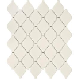 "10 Pack 8 Sq. Ft. 12""x 12"" Biscuit Beacon Mosaic Tiles thumb"