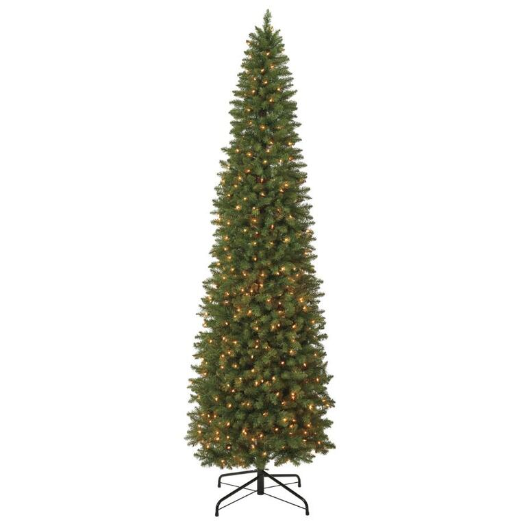 Instyle Holiday 7 Jasper Fir Pencil Christmas Tree With Clear Lights