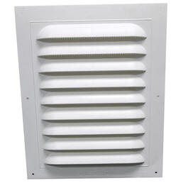 "8"" x 12"" Standard Rectangular Gable Vent thumb"