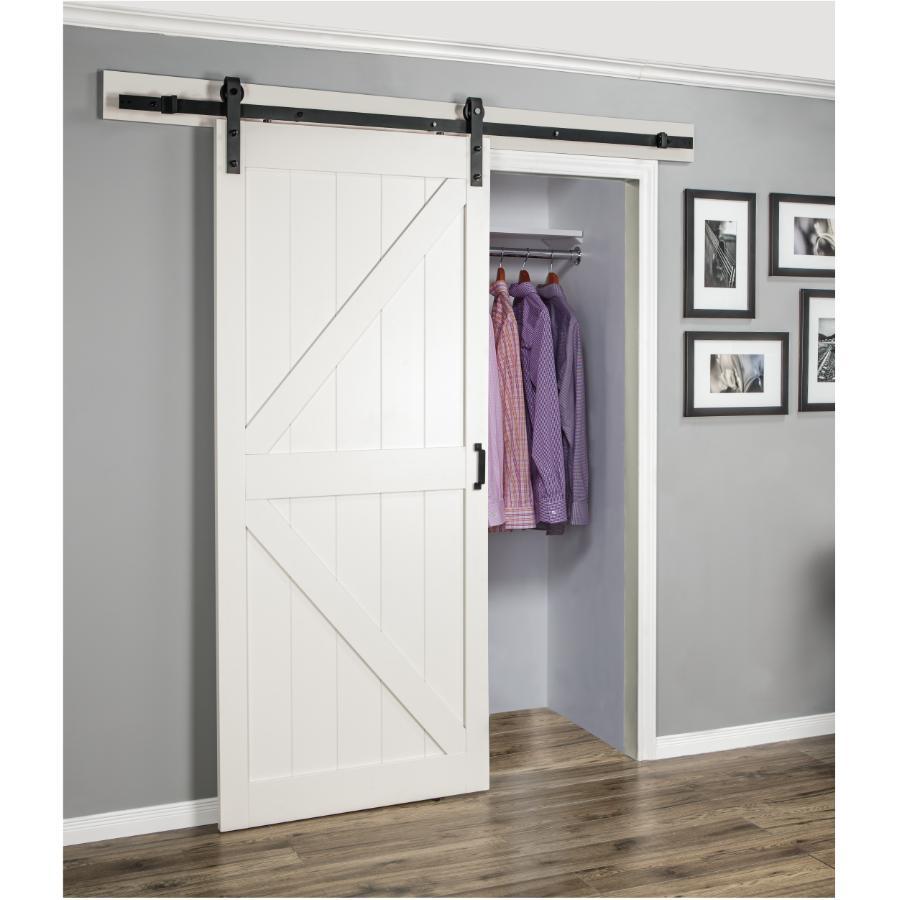 K-Frame Off White Interior Sliding Barn Door with Hardware  sc 1 st  Home Hardware & Sliding Doors - Home Hardware Canada