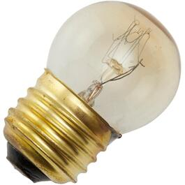 25W G11 Medium Base Clear Appliance Light Bulb thumb