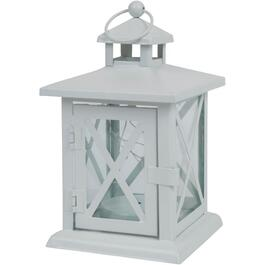 "8.3"" Mini Lantern, with Battery Operated Micro LED Lights and Timer, Assorted Colours thumb"