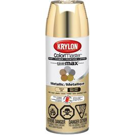 340g Indoor Fast Dry Brilliant Gold Solvent Paint thumb