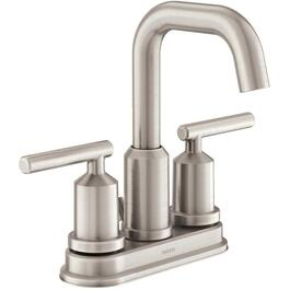 Gibson Spot Resist Brushed Nickel 2 Handle Lavatory Faucet thumb