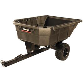 750lb 12.5 cu.ft. Poly Swivel Dump Cart thumb