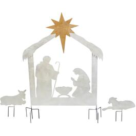 "3 Piece 50"" Nativity Yard Silhouette thumb"