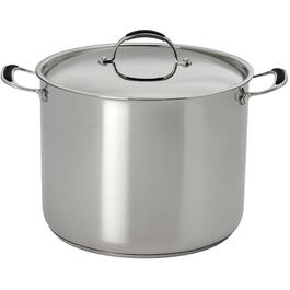 17 Quart Stainless Steel Stockpot, with Stainless Steel Lid thumb