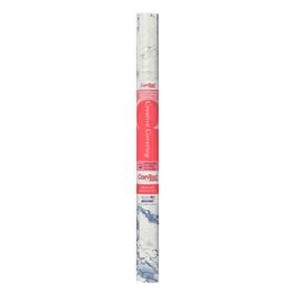 "18"" x 9' Marble Blue Vinyl Adhesive Covering thumb"
