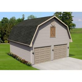 22' x 24' Basic Garage Package, with Loft thumb
