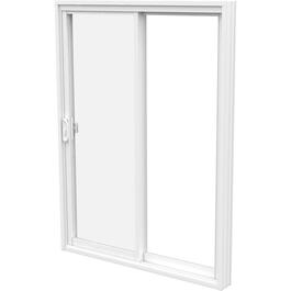 "5' x 6'8"" Odyssey FO Low-e Glass PVC Patio Door, with 5-1/2"" Frame thumb"
