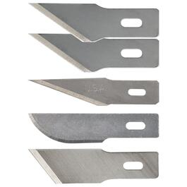 5 Pack #2 Hobby Knife Blades, Assorted Blades thumb