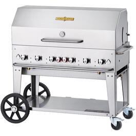 MCB48 6 Burner 966 sq. in. 90,000BTU Propane Mobile Barbecue thumb