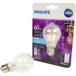 4.5W A19 Medium Base Daylight Vintage LED Light Bulb thumb