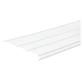 "20"" x 6' White Wire Close Mesh Shelf thumb"