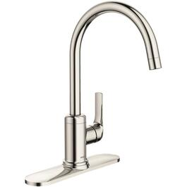Ramus Single Lever Vessel Bathroom Faucet Satin Nickel Touch On amazon.com Kraus FVS 1007SN SingleBathroom dp B0032FKSE8
