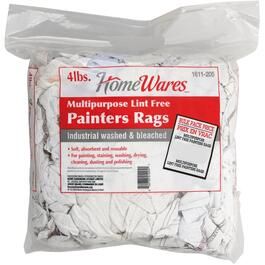 4lb Pack White Painters Rags thumb