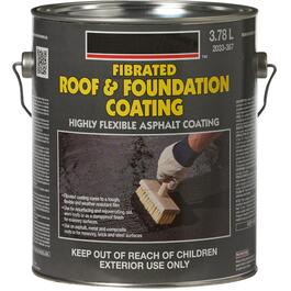 3.78L Fibrated Roof and Foundation Coating thumb
