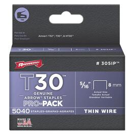"5040 Pack 5/16"" Staples, for T32 Stapler thumb"