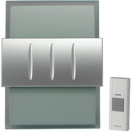 Grey Wireless Battery Operated Door Chime thumb